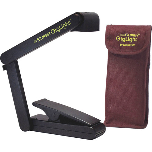 LampCraft Super GigLight LED Battery Light for Music Stands
