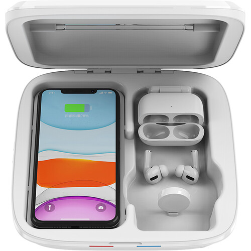 CASEPH Wireless Charging & UVC Sanitizer Box