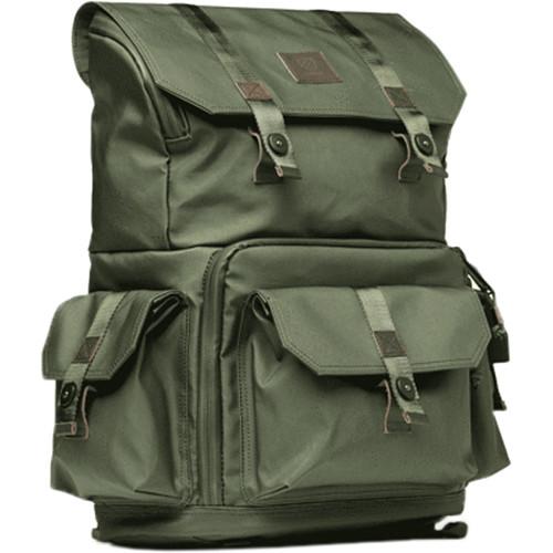 Langly Alpha Globetrotter Camera Backpack (Forest)
