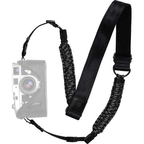Langly Paracord Camera Strap (Touch of Gray)