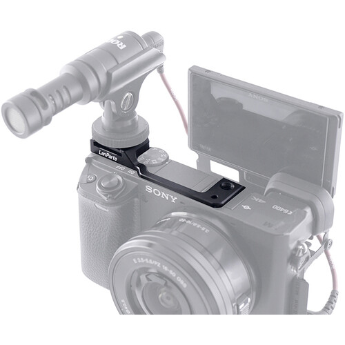 LanParte Cold Shoe Offset Mount for Sony a6400