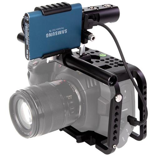 LanParte Blackmagic Design 6K Full Camera Cage With 501 Quick Release Plate