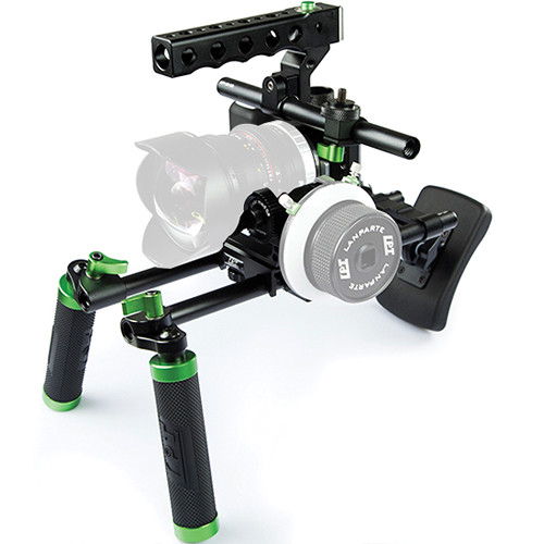 Lanparte Blackmagic Pocket Cinema Camera Basic Handle Rig