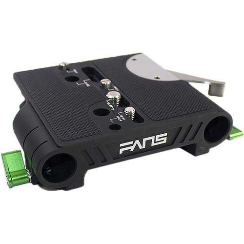LanParte FANS Series ARRI Standard 19mm Bridgeplate