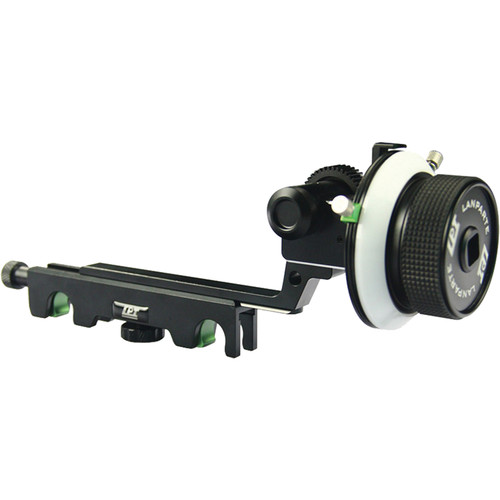 LanParte Follow Focus V2 with Hard Stops for 19mm Rods