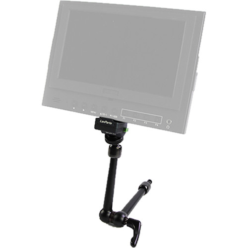 "LanParte Fans Series Friction Magic Arm with Monitor Quick Release Adapter (10"")"