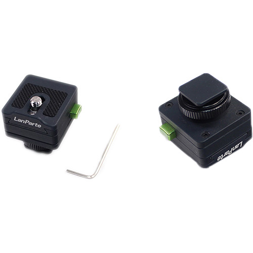 LanParte Monitor Quick Release Adapter (Cold Shoes)