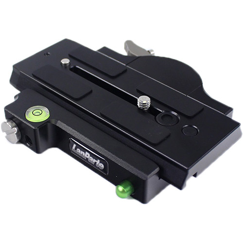 LanParte Quick Release Assembly with Manfrotto 501-Type Plate