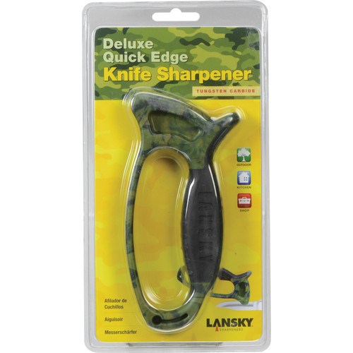 LANSKY Deluxe Quick Edge Camo Knife Sharpener