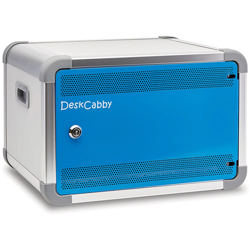 LapCabby DeskCabby 12-Device USB Charging Cabinet (Charge & Sync)