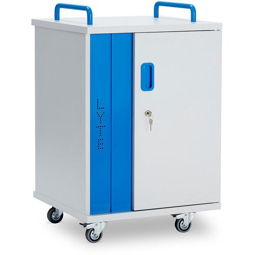 LapCabby LYTE 10-Device Single Door AC Charging Cart