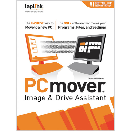 Laplink PCmover Image & Drive Assistant (1 Use, Download)