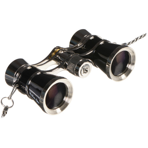 LaScala Optics 3x25 Carmen Opera Glasses (Black & Silver)