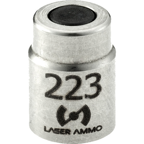 Laser Ammo Digital Boresight Conversion Back Cap for SureStrike .223 AR-15 Laser Training Cartridge