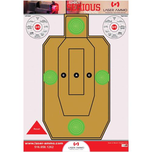 """Laser Ammo 16 x 23"""" Cardboard Target for Heavy Gauges"""
