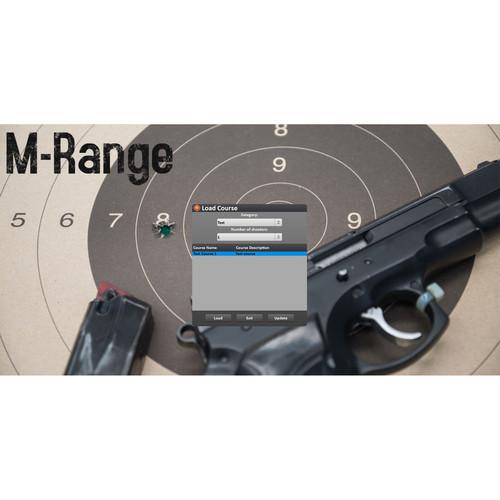 Laser Ammo M-Range 4-Lane Shooting Range Add-On for Smokeless Range Simulator
