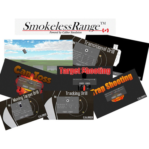 Laser Ammo Smokeless Range Marksmanship Shooting Simulator Combo Package