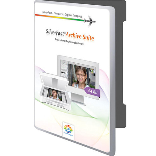 LaserSoft Imaging SilverFast Archive Suite 8 for Pacific Image Powerslide 3650 Scanner