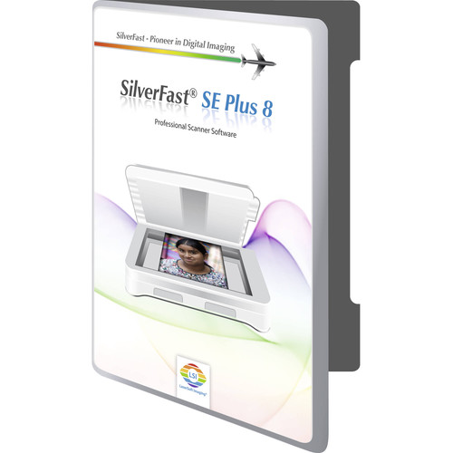 LaserSoft Imaging SilverFast SE Plus 8.5 Scanning Software with Printer Calibration for Epson Perfection V600 Photo/GT-X820
