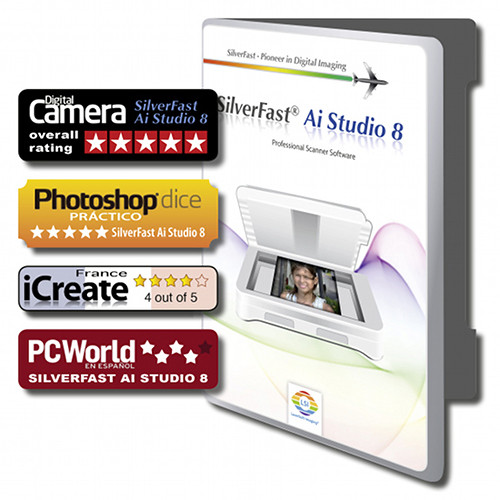 LaserSoft Imaging SilverFast Ai Studio 8 Scanner Software for PIE Primefilm 7250 Pro3
