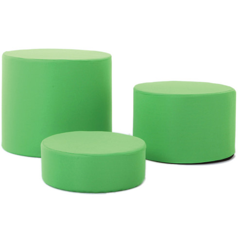 Lastolite Low Level Posing Tubs Covers (Set of 3, Chromakey Green)