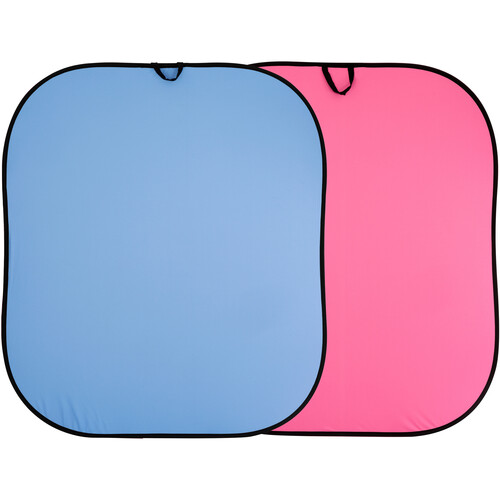Lastolite Collapsible Reversible Background (6 x 7', Blue/Pink)
