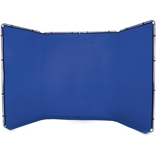 Lastolite Panoramic Background Kit (13', Chroma Key Blue)