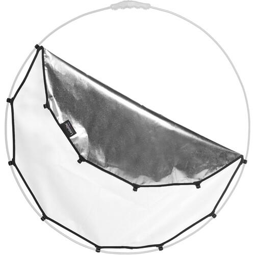 """Lastolite Halo Compact Reflector Silver/White Fabric (32"""")"""