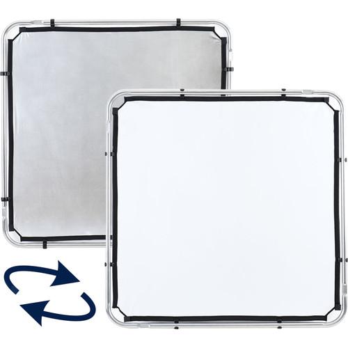 Lastolite Skylite Rapid Fabric Reflector (Silver/White, 3.6 x 3.6')