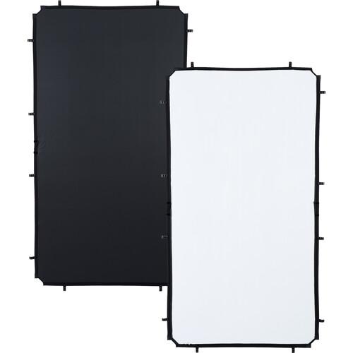 Lastolite Skylite Rapid Fabric Reflector (Black/White, 3.6 x 6.6')