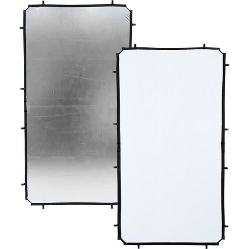 Lastolite Skylite Rapid Fabric Reflector (Silver/White, 3.6 x 6.6')