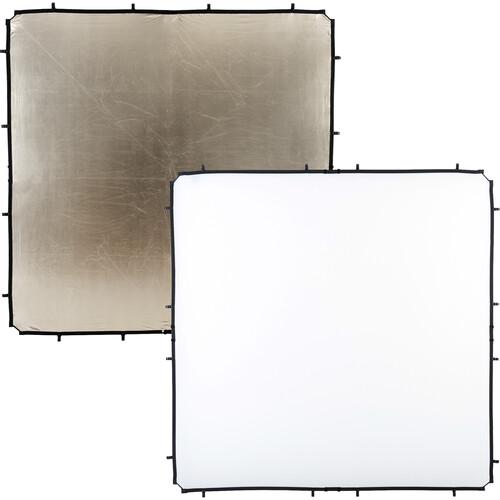 Lastolite Skylite Rapid Fabric Reflector (Sunfire/White, 6.6 x 6.6')