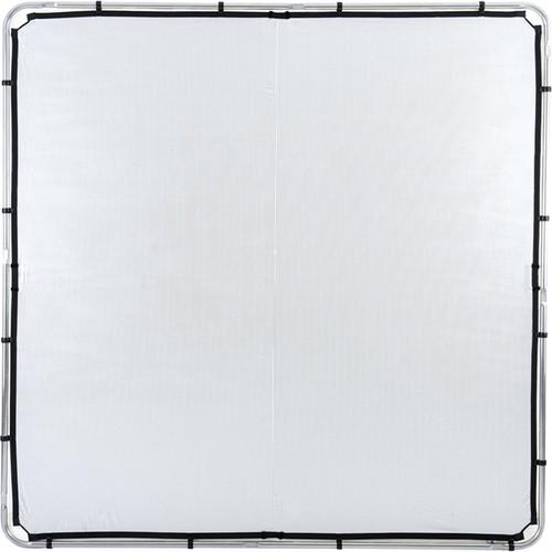Lastolite 6.6 x 6.6' SkyLite Rapid Fabric Deflector (Soft Silver)