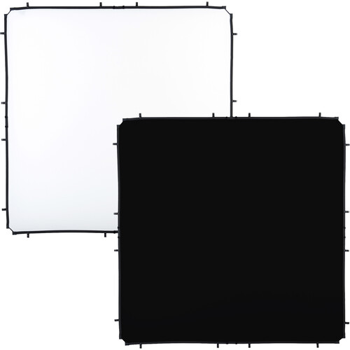 Lastolite Skylite Rapid Fabric Reflector (Black/White, 6.6 x 6.6')