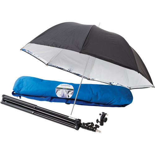 "Lastolite All-In-One Umbrella Kit with Tilthead Shoe Lock Bracket (28"")"