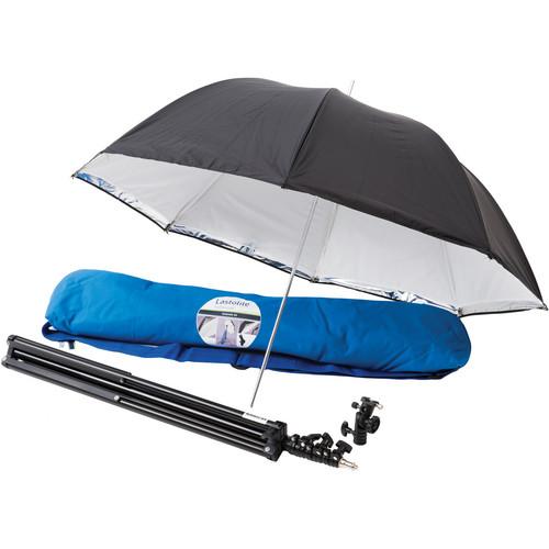 "Lastolite Lastolite All-In-One Umbrella Kit with Tilthead Shoe Lock Bracket (39"")"