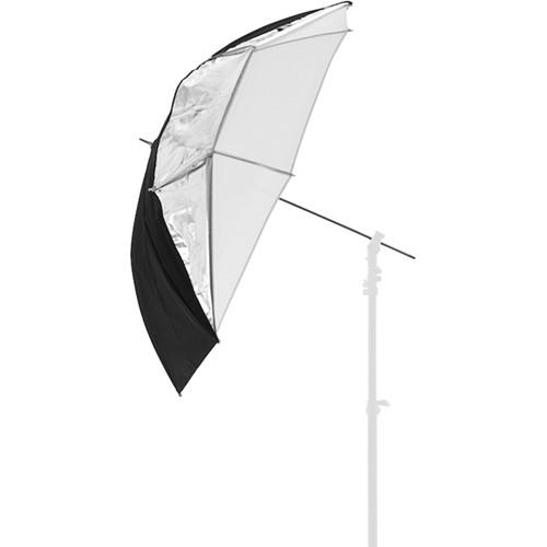 """Lastolite All-In-One Umbrella (Silver/White, 28"""")"""