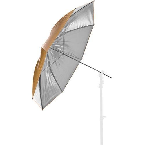"Lastolite Reversible Fiberglass Umbrella (Silver/Gold, 41"")"