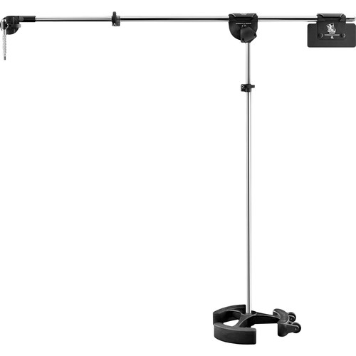 LATCH LAKE micKing 2200 Boom Microphone Stand (Chrome)