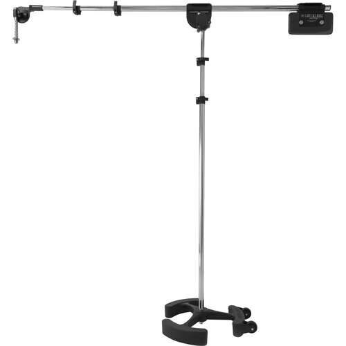LATCH LAKE micKing 3300 Boom Microphone Stand (Chrome)