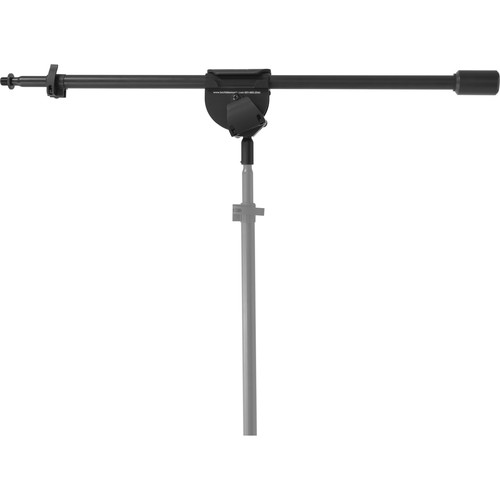 "LATCH LAKE RB1100 micKing RetroBoom Telescoping Boom Arm (32.5 to 62.4"", Black)"