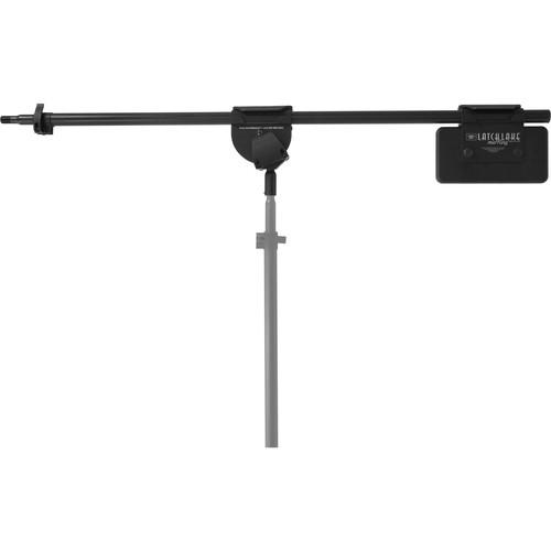 "LATCH LAKE RB2200 micKing RetroBoom Telescoping Boom Arm (45.5 to 84"", Black)"