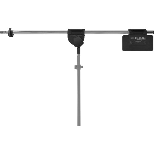 "LATCH LAKE RB2200 micKing RetroBoom Telescoping Boom Arm (45.5 to 84"", Chrome)"