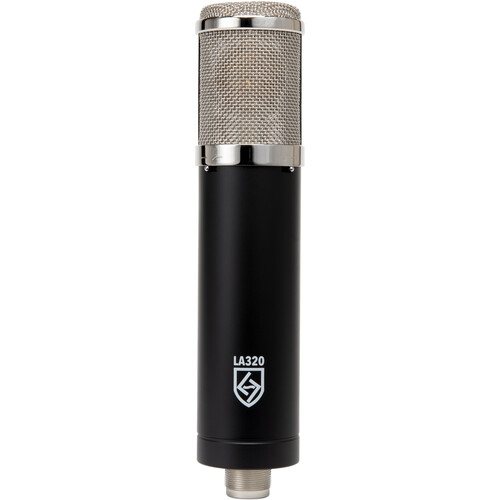 Lauten Audio Series Black LA-320 Professional Large-Diaphragm Vacuum Tube Condenser Microphone