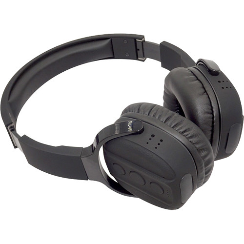 LawMate Headphones with 1080p Covert Wi-Fi Camera