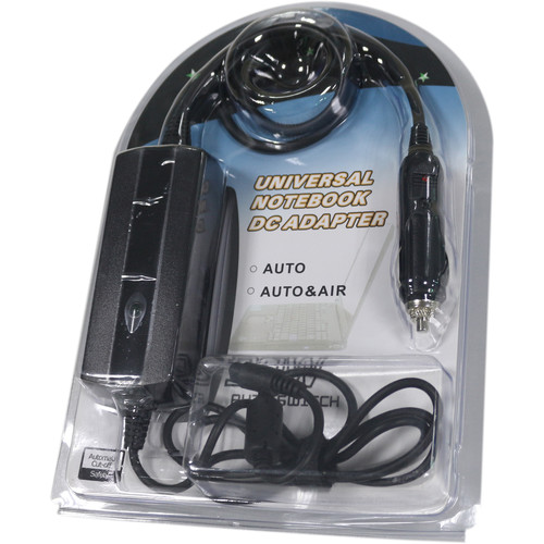 Lazer Volt Universal Notebook Charger with 12V Cigarette Lighter Plug