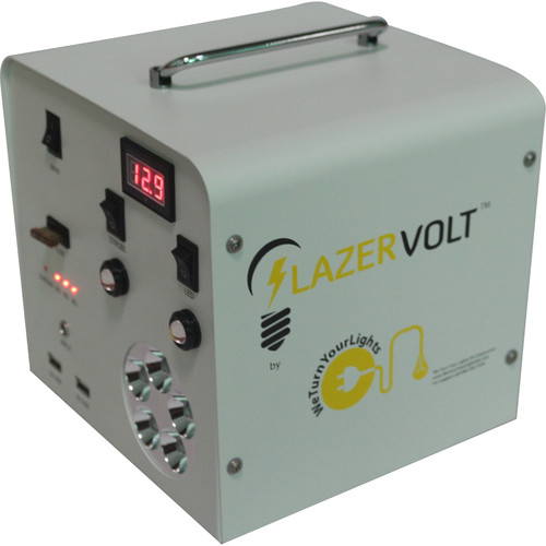 Lazer Volt 12 VDC Blackout Relief Power Source