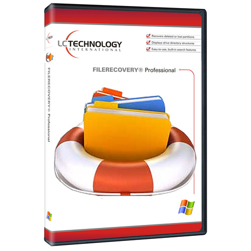 LC Technology International FILERECOVERY 2015 Professional for Windows (Download)