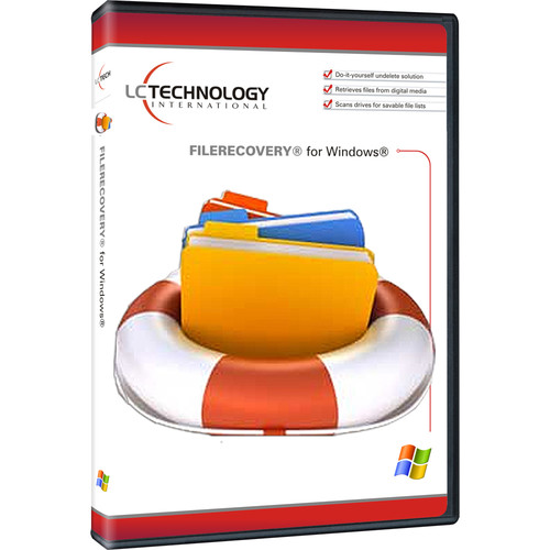 LC Technology International FILERECOVERY 2015 Standard for Windows (Download)