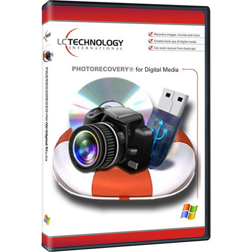 LC Technology International PHOTORECOVERY Standard 2015 for Windows (Download, 1-Year License)